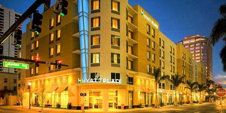 Hyatt Place West Palm Beach Downtown Fl