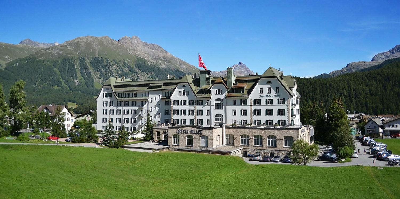 Cresta Palace Hotel -- Celerina, Switzerland