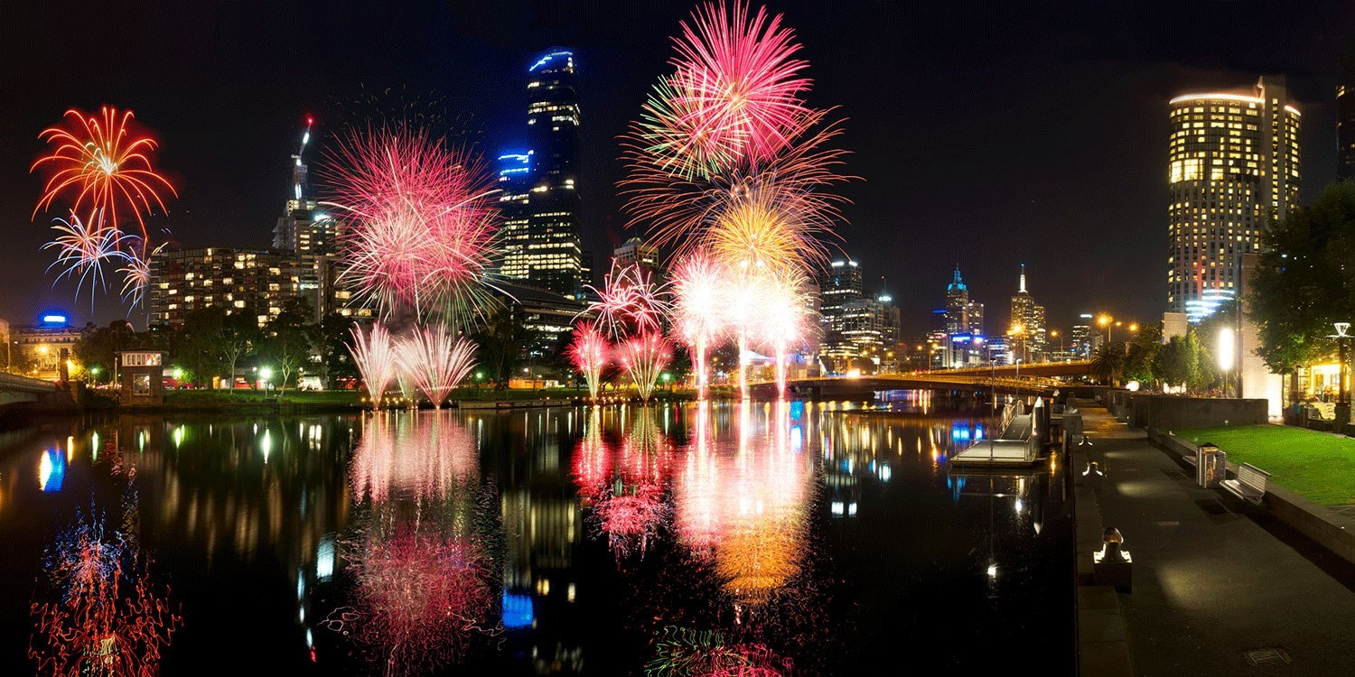 $466 Melbourne New Year's Eve Stay w/Brekkie & Party Tix -- Melbourne, Australia