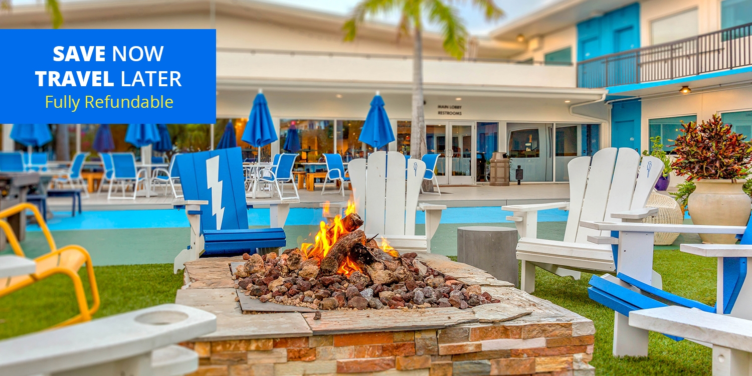 £68 – St. Pete Beach 'Ultrahip Beachfront Hotel,' up to 55% Off -- St. Pete Beach, FL