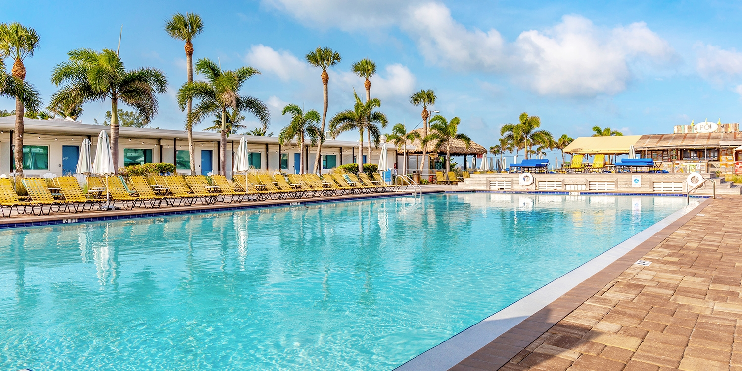 $79 & up – Hip St. Pete Beachfront Hotel, Save 40% -- St. Pete Beach, FL