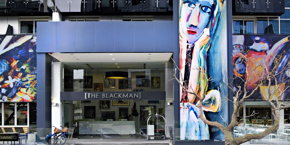 Art Series - The Blackman -- Melbourne, Australia