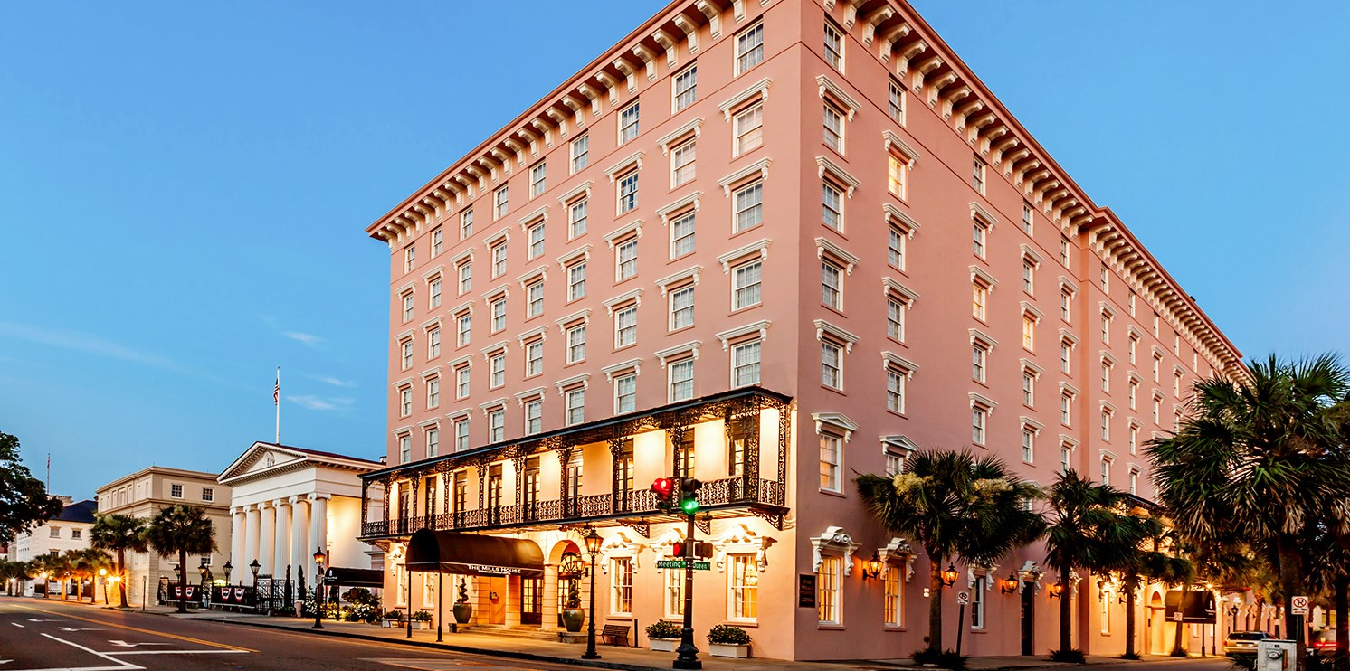 The Mills House Wyndham Grand Hotel -- Charleston, SC
