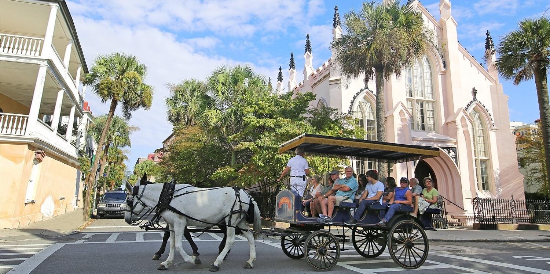 £135 – Charleston in Fall: 4-Star Stay, 45% Off -- Charleston, SC