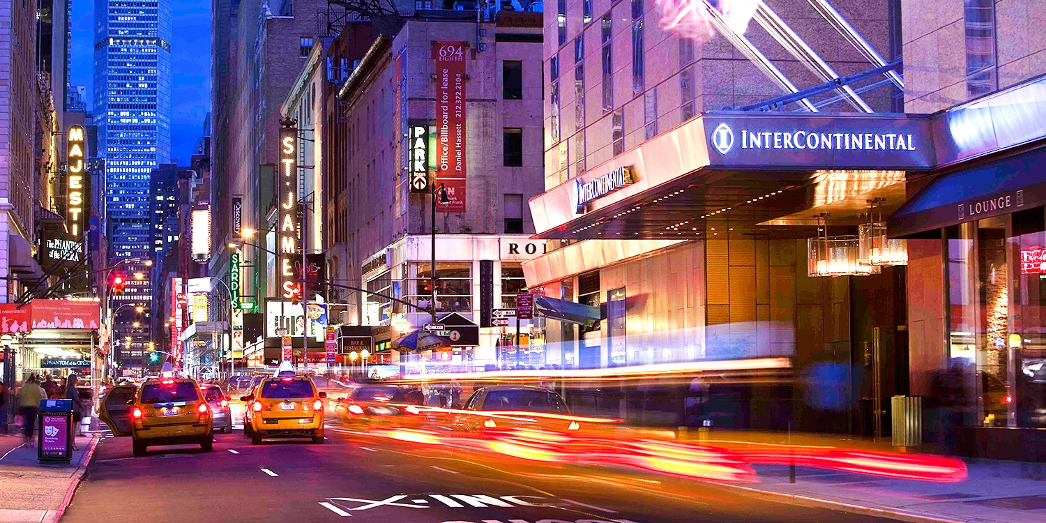 Intercontinental New York Times Square Travelzoo