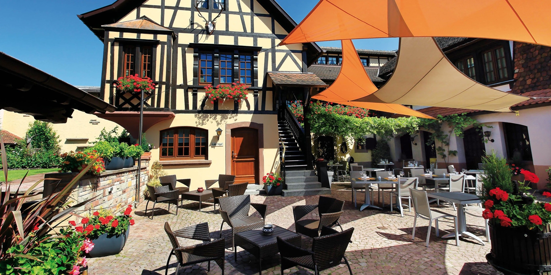 199€ — Alsace : nuit 4* et dîner au restaurant étoilé Michelin -- Marlenheim