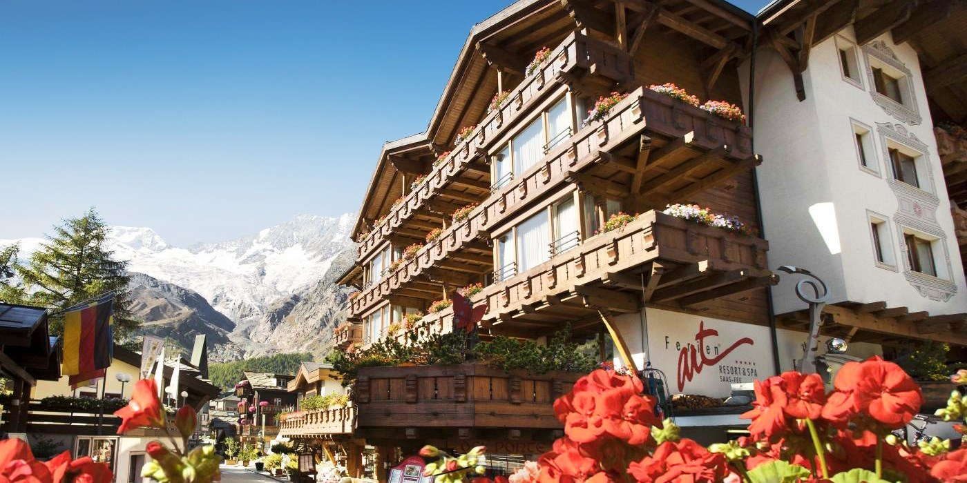 Ferienart Resort & Spa -- Saas Fee, Schweiz