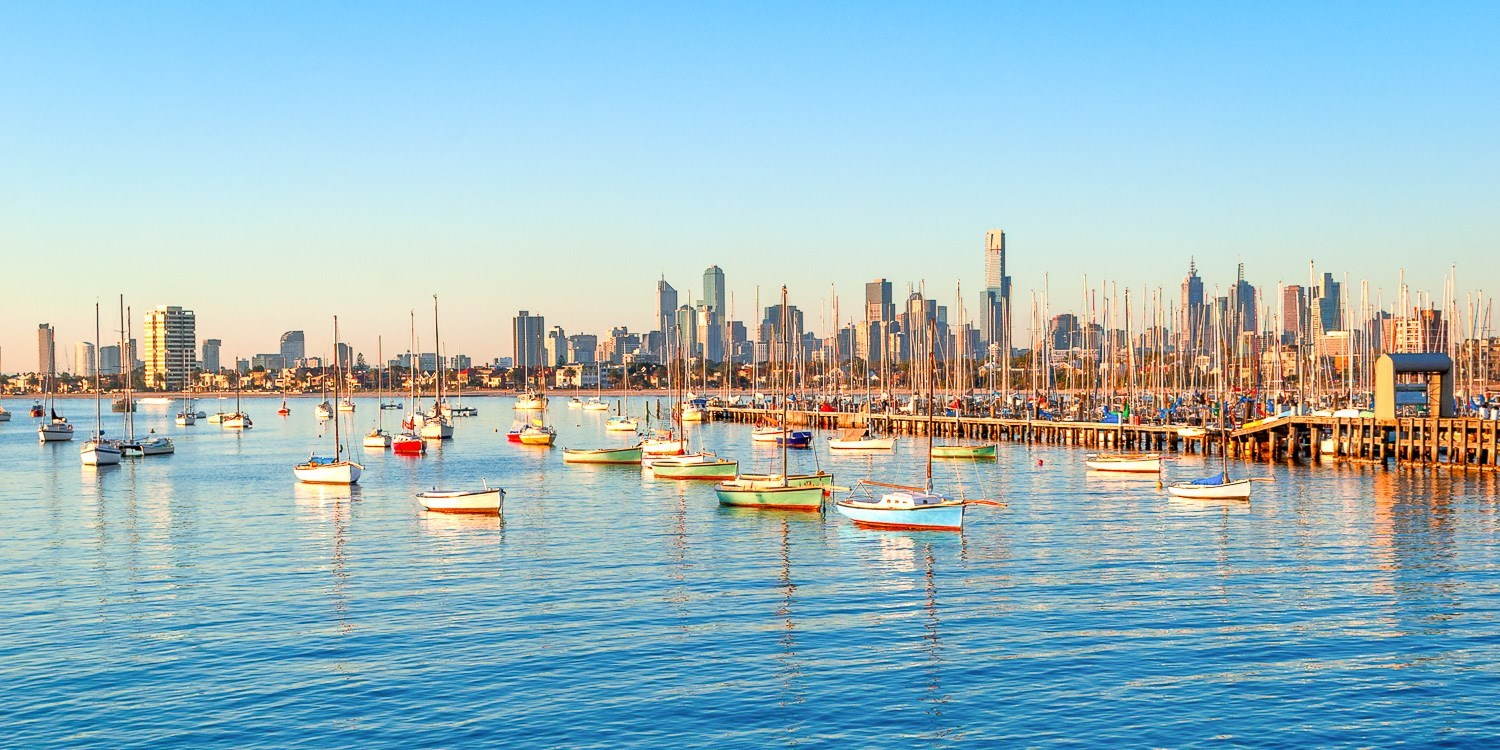 $96 – Melbourne Beach Stay for 2 w/Wine, Save up to 49% -- St Kilda, Melbourne