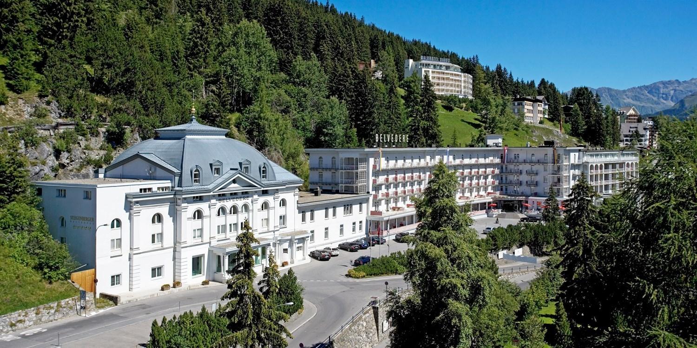 Steigenberger Grandhotel Belvédère -- Davos, Schweiz