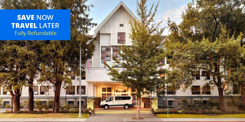 £77 & up – Victoria Harbourfront Hotel w/Breakfast & Parking -- Victoria, Canada