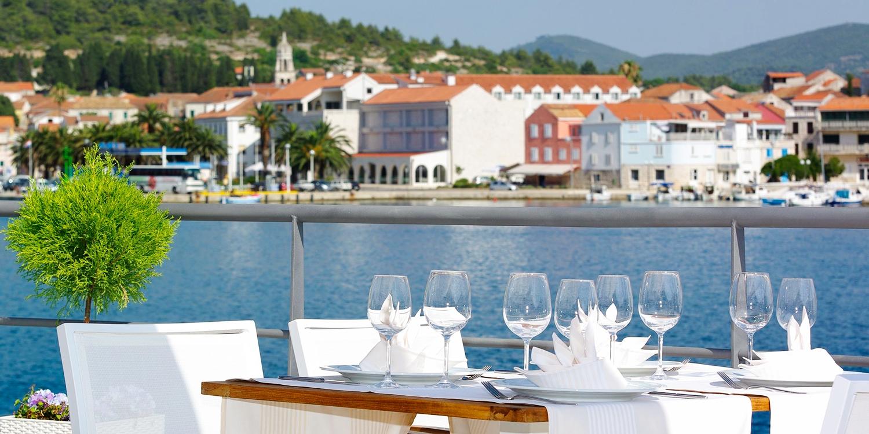 Hotel Korkyra -- Vela Luka, Kroatien