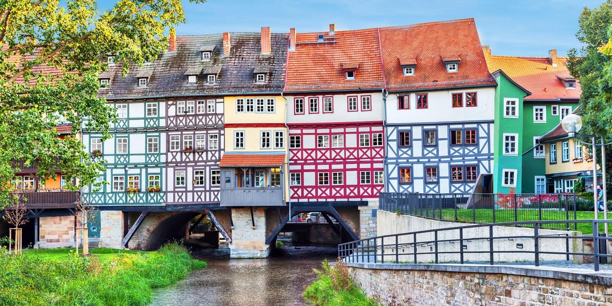 ab 59€ – Entdecken Sie das charmante Erfurt, -40% -- Thüringen