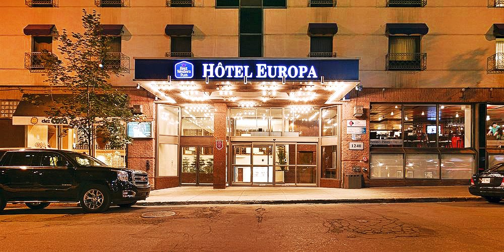 Best Western Plus Montreal Downtown-Hotel Europa -- Montreal, Canada