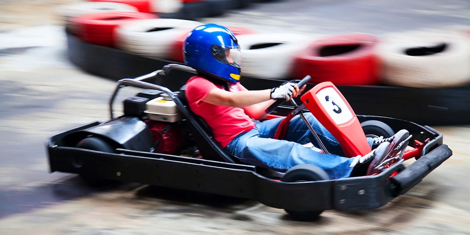 Go-Kart Racing for 2 at up to 50 MPH for $39