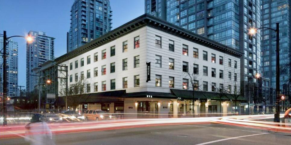 Moda Hotel -- Vancouver, Canada