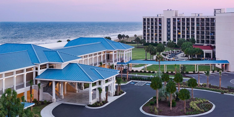 doubletree resort by hilton myrtle beach oceanfront. Black Bedroom Furniture Sets. Home Design Ideas