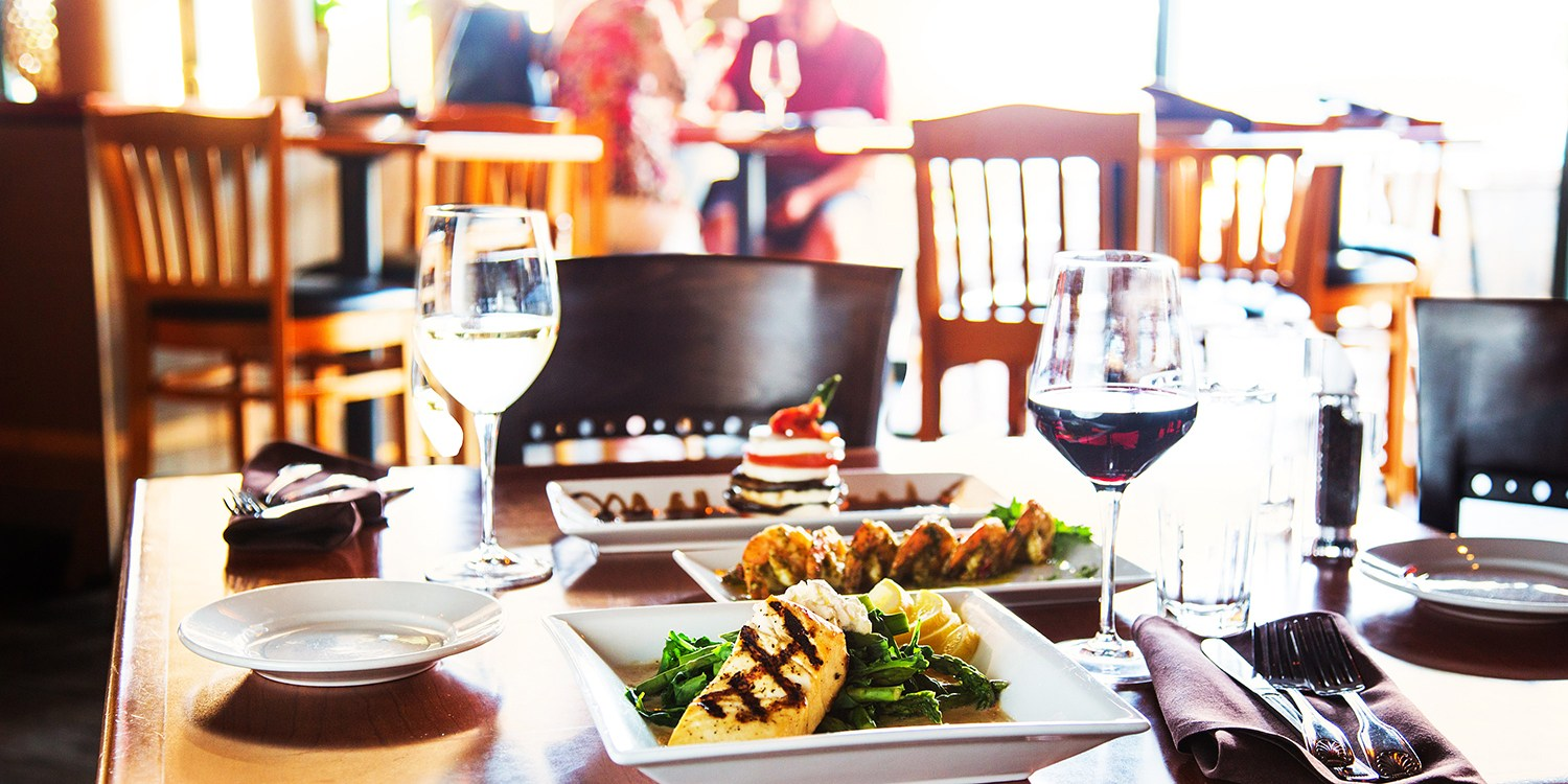 $15 & up -- Cove Trattoria: Lunch or Dinner for 2, 50% Off
