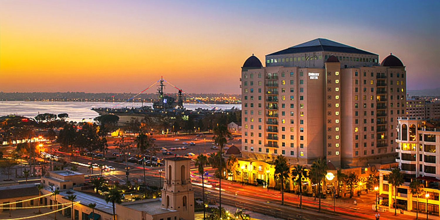 Embassy Suites by Hilton San Diego Bay Downtown -- Downtown San Diego - Gaslamp Quarter, San Diego