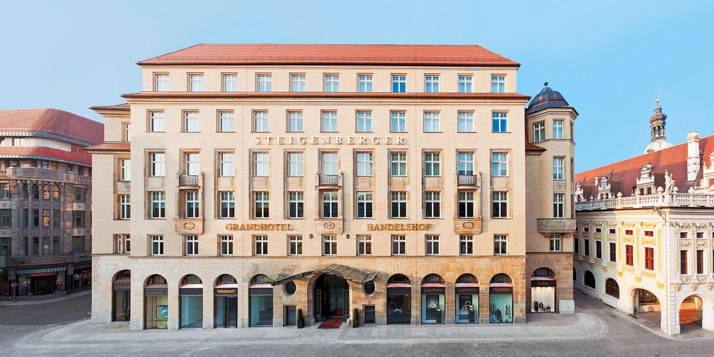 Steigenberger Grandhotel Handelshof Leipzig -- Sachsen, Germany