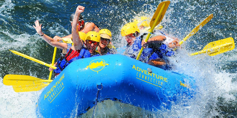Save 50% on a River Rafting Trip w/Lunch thru Summer: $79