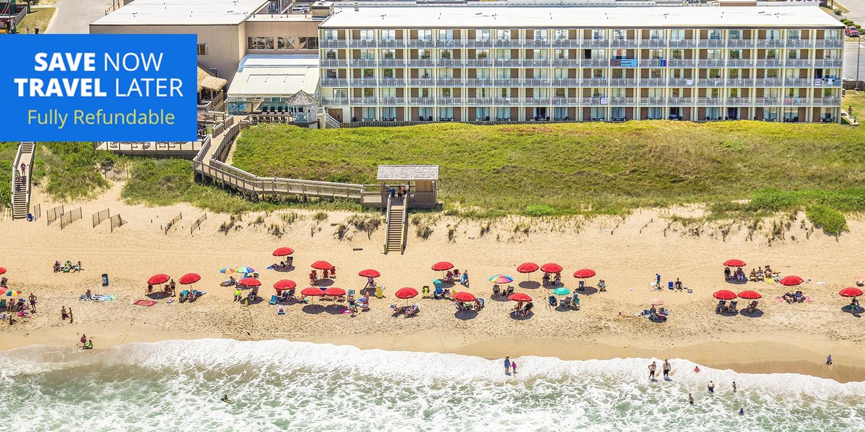 £63 & up – North Carolina Outer Banks Hotel, up to 45% Off -- Kill Devil Hills, NC