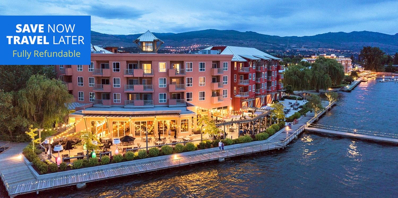£112 – Lakefront Kelowna Resort Stays w/Dining Credit, Reg. £192 -- Kelowna, Canada