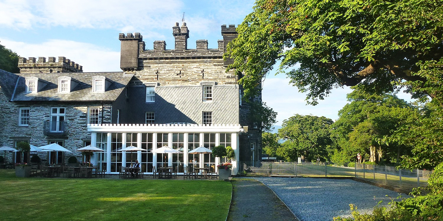 The Portmeirion Hotel & Castell Deudraeth -- Snowdonia National Park, United Kingdom