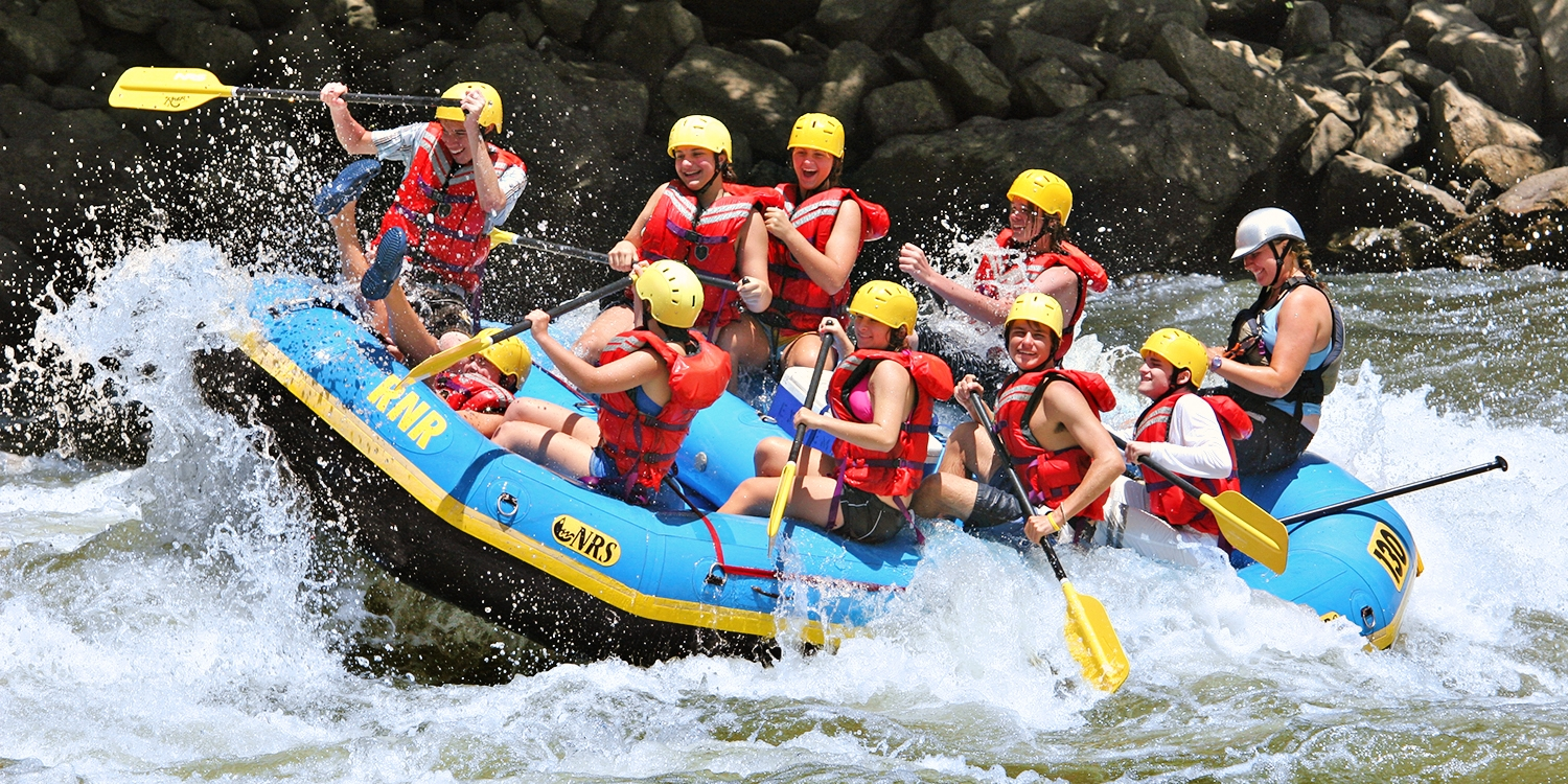 $65 & up -- River Rafting Packages into Fall, Save up to 40%