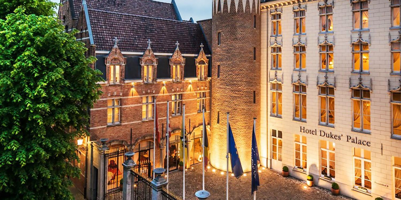 Hotel Dukes' Palace Bruges -- Brügge, Belgien