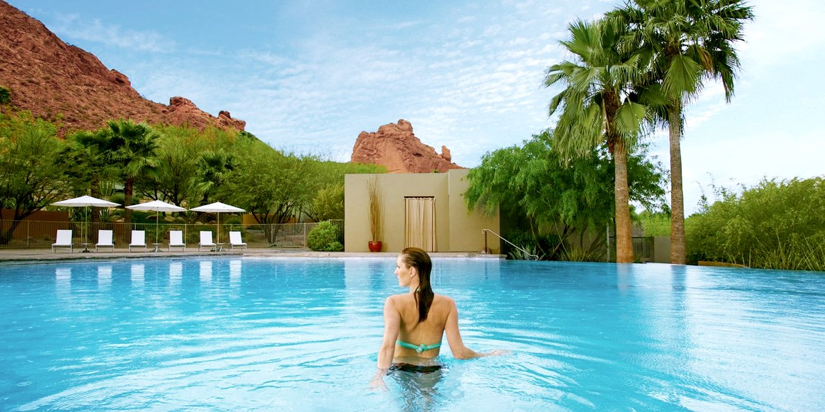 $99 -- Sanctuary on Camelback: Peak-Season Spa & Pool Day