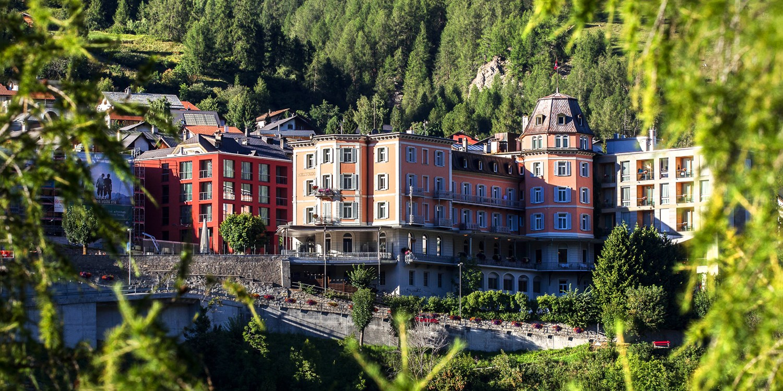 Hotel Belvédère -- Schuls, Schweiz