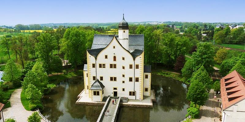 Wasserschloss Klaffenbach Schlosshotel -- Chemnitz