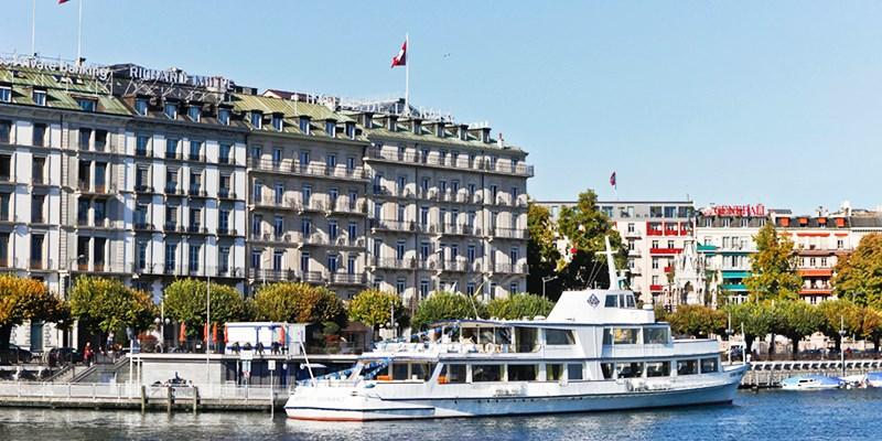 Hotel de la Paix -- Geneva, Switzerland