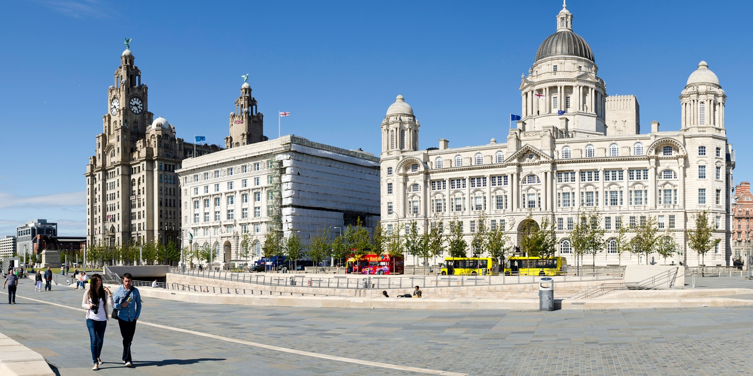 Waterfront and Royal Liver Building, a UNESCO World Heritage Site
