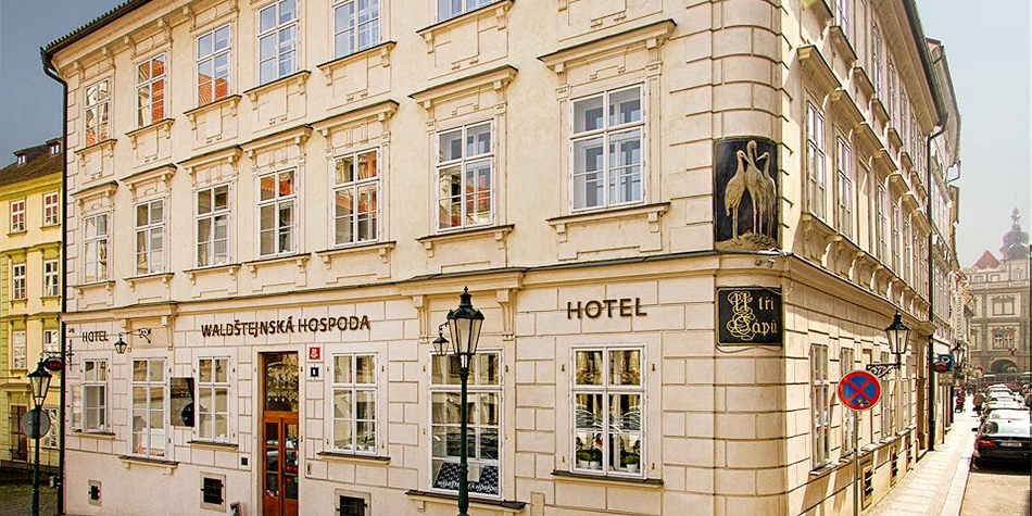 Hotel Three Storks -- Prague, Czech Republic