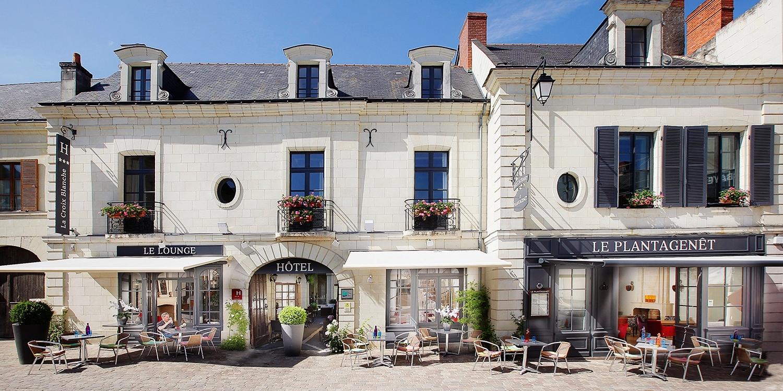 Hostellerie La Croix Blanche -- Fontevraud-l'Abbaye