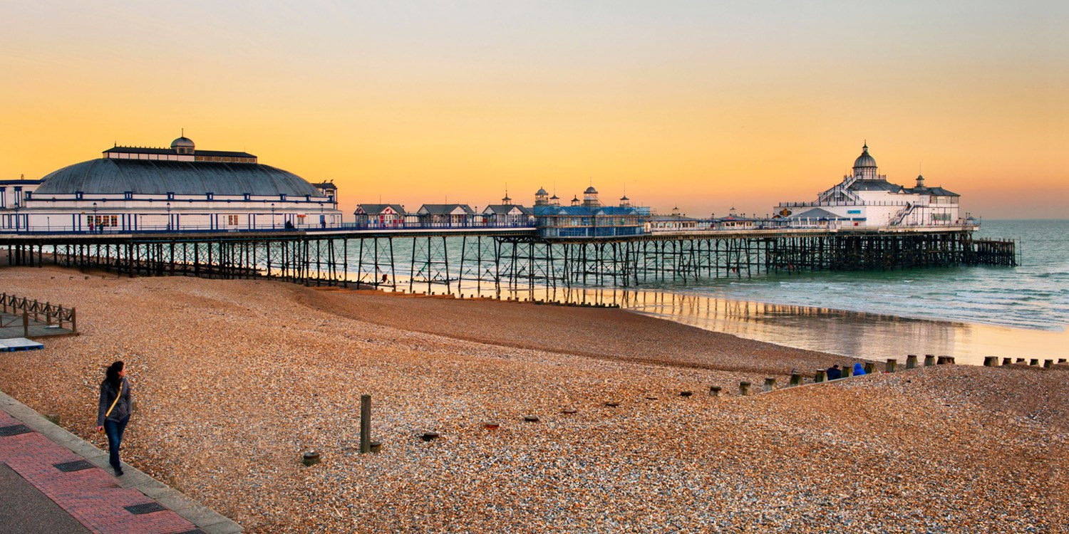 £59 – Eastbourne stay with cream tea & prosecco, 58% off -- Eastbourne