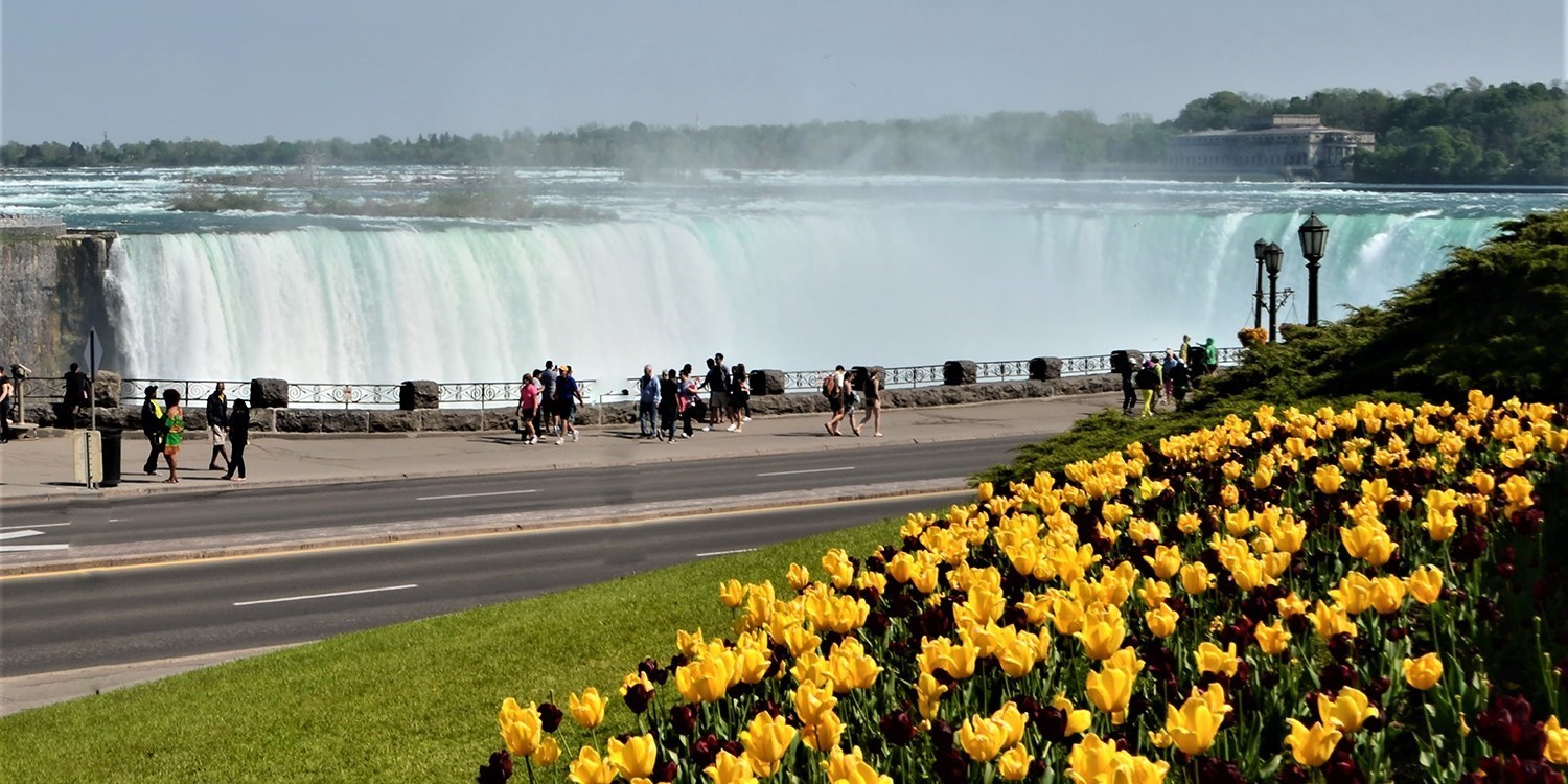 $75 – Niagara Falls Stay in Tulip Season incl. Winery Passes -- Niagara Falls, Ontario