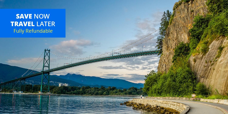 £80 – One-Bedroom Suite w/Parking near Stanley Park, Reg. £197 -- Vancouver, Canada