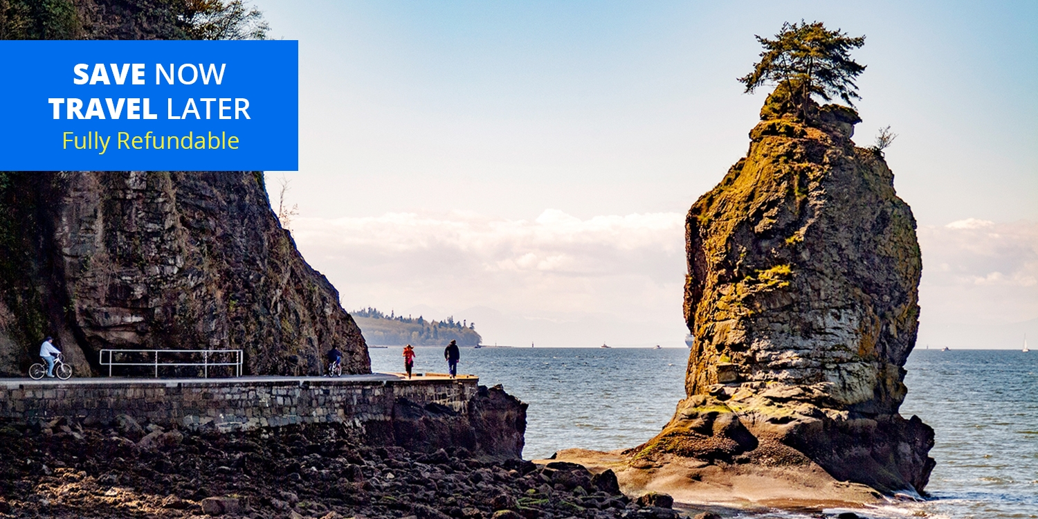 £84 – Suite Stays w/Parking & Credit near Stanley Park, 50% Off -- Vancouver, Canada