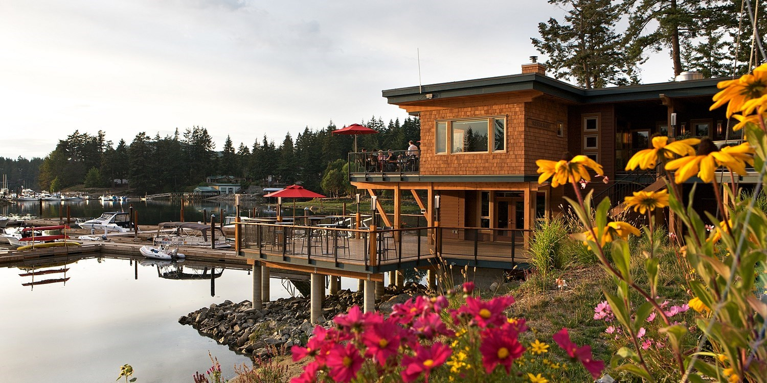 Painted Boat Resort, Spa & Marina -- Sunshine Coast, British Columbia