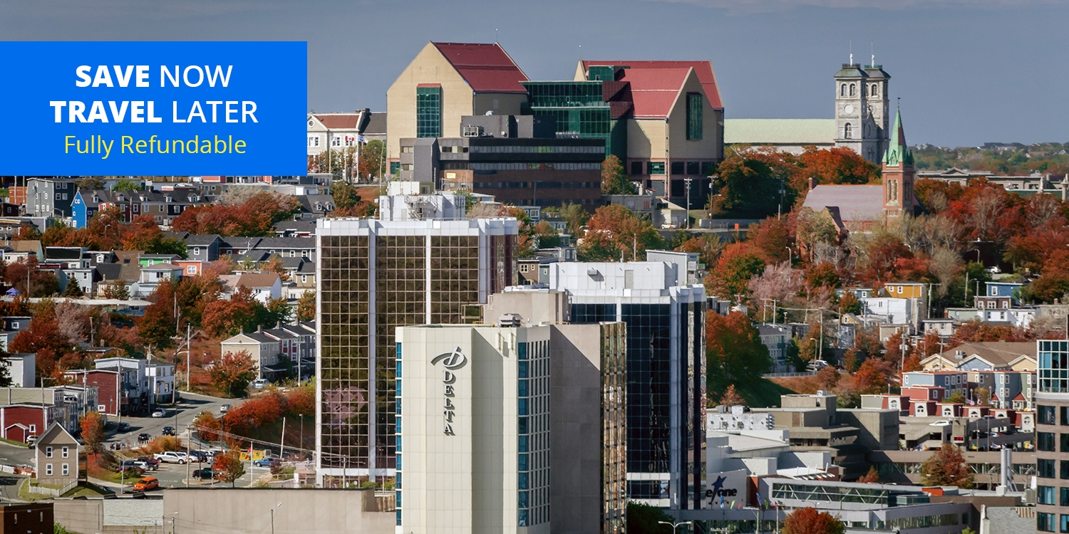 $99 – St. John's: Waterfront Hotel w/Parking thru June, 50% Off -- St. John's, Newfoundland and Labrador