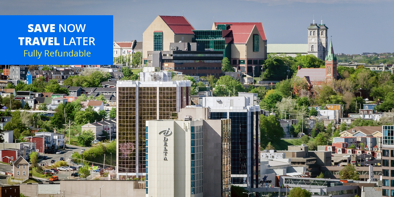 £68 – St. John's: Waterfront Hotel w/Parking thru June, 50% Off -- St John's, Canada