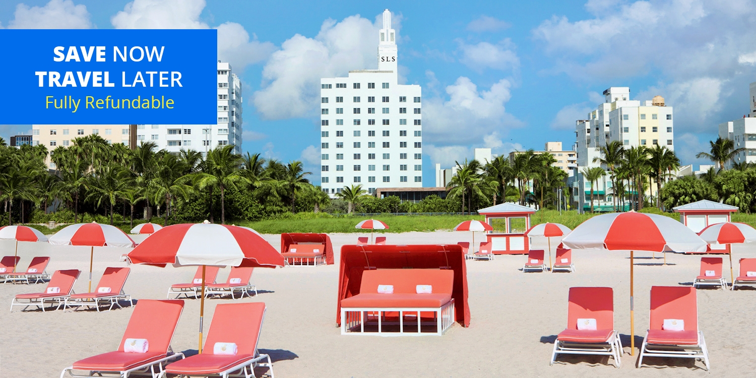 $169 & up – Swanky South Beach Hotel, Save $100 -- South Beach