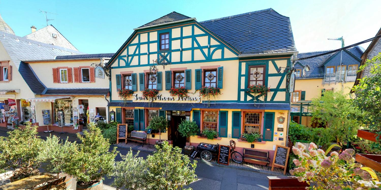 Historisches Hotel Weinrestaurant Zum Grünen Kranz -- Rüdesheim am Rhein