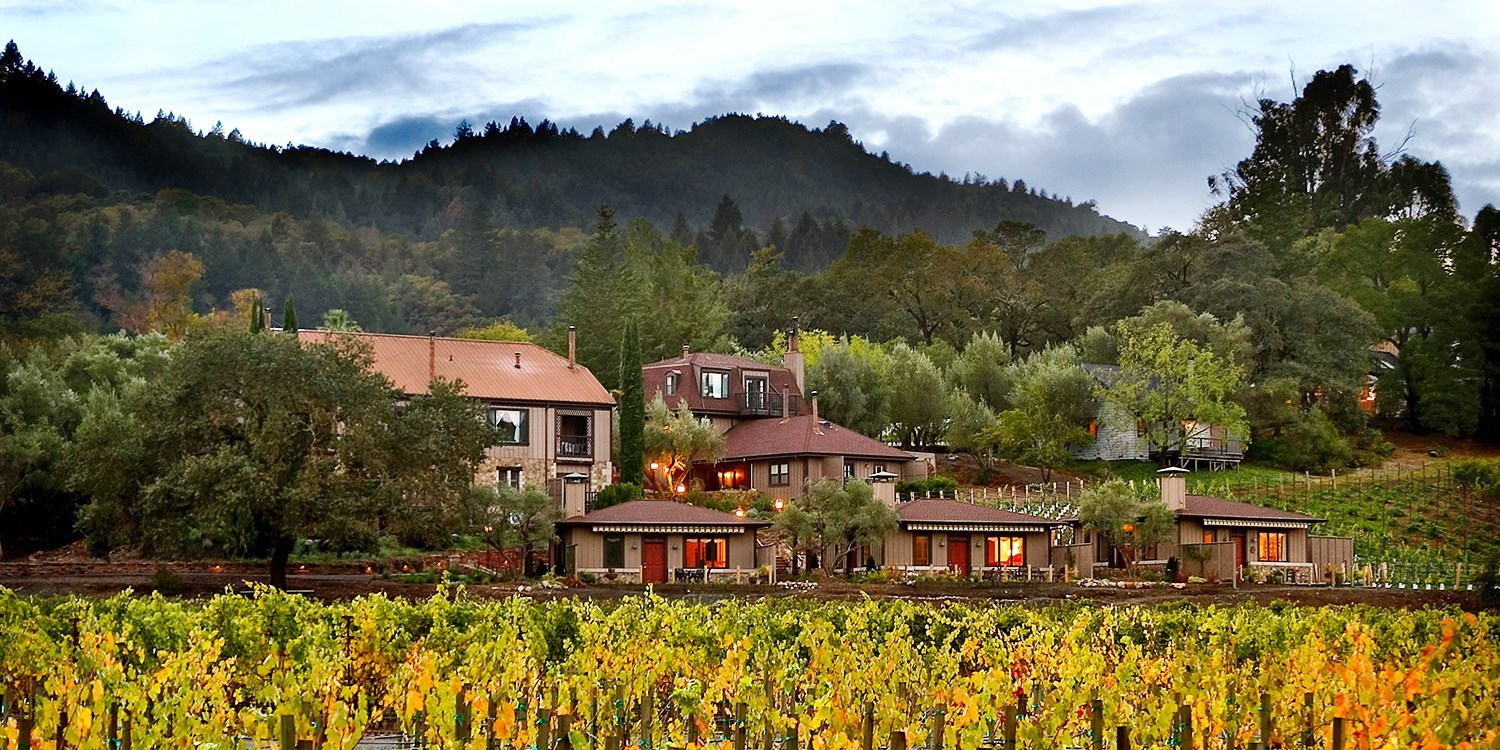 Wine Country Inn & Cottages -- St. Helena, CA