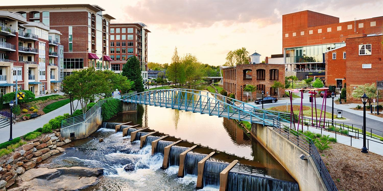 $197 – Greenville Hilton Stay w/Breakfast, 40% Off -- Greenville, SC