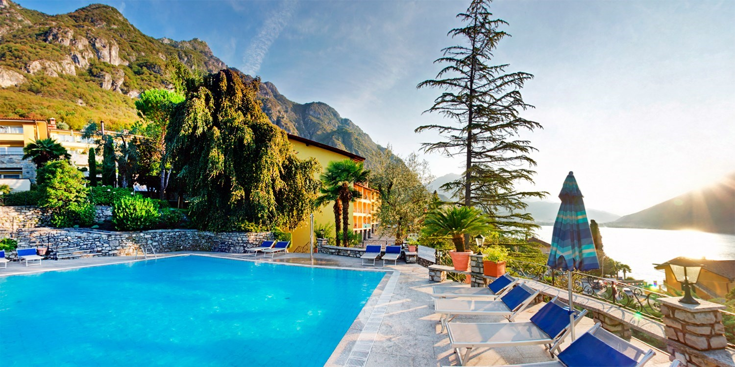 159 €–169 € – Suite im 4,5*-Resort am Luganer See, -40% -- Porlezza, Italien