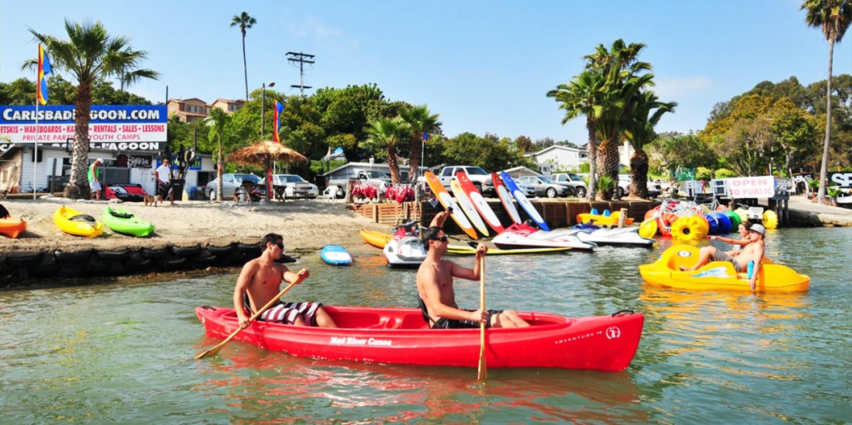 $27 -- Carlsbad Lagoon: Kayaking & Watersports, Reg. $50