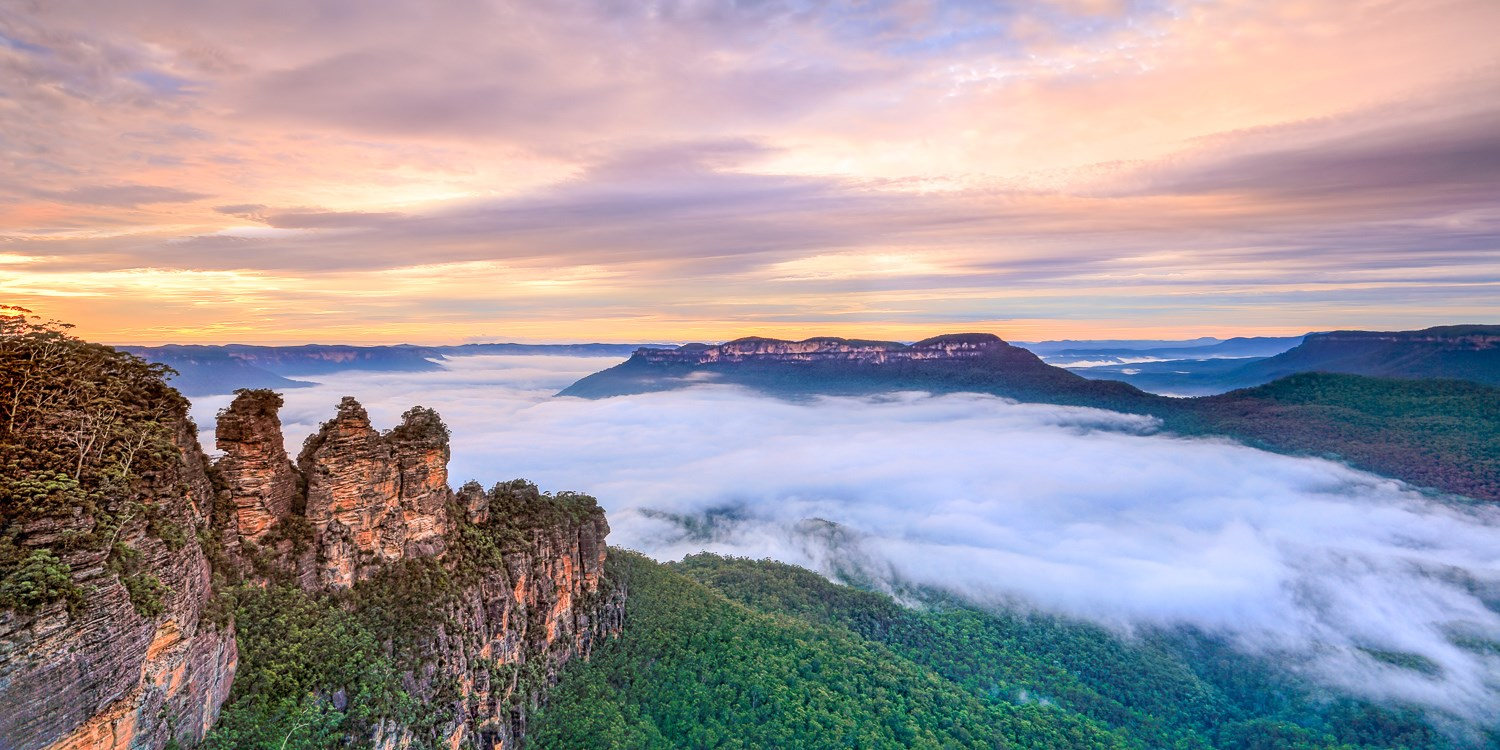 $70pp – Blue Mountains: 2-Night Stay w/Wine & Late Checkout -- Blue Mountains, Australia